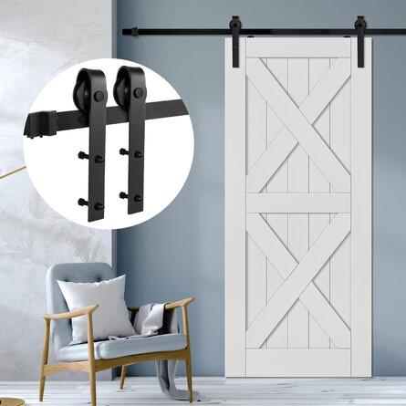 Sliding Barn Double Door Hardware Kit