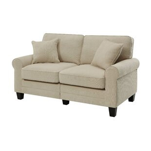 Shop Buxton 61 Rolled Arm Loveseat by Beachcrest Home
