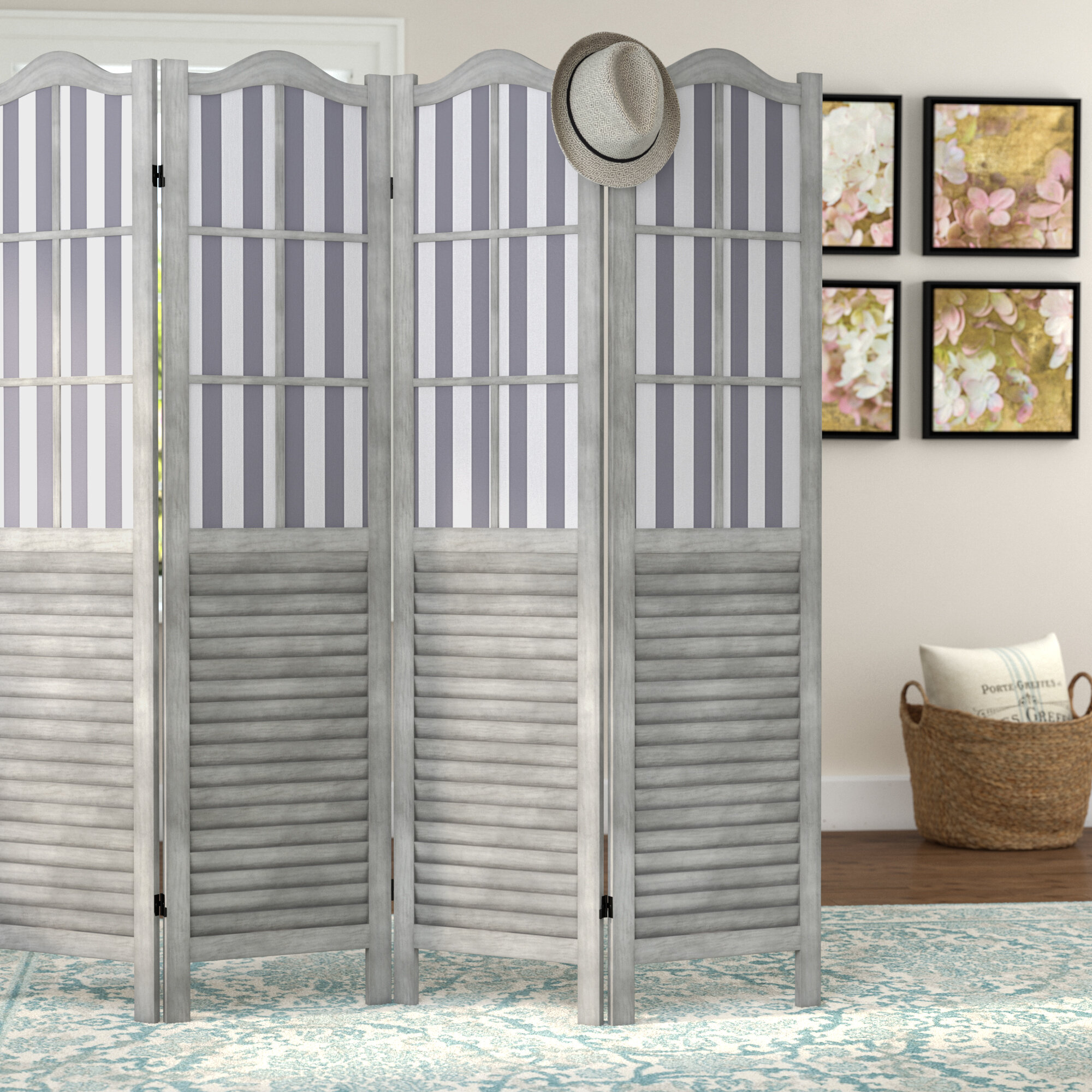 Chalk Paint Per Porte cottage & country room dividers you'll love in 2020 | wayfair