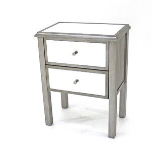 Carnation 2-Drawer End Table by House of Hampton