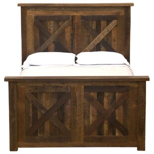Bargain Reclaimed Barnwood Platform Bed by Fireside Lodge Reviews (2019) & Buyer's Guide