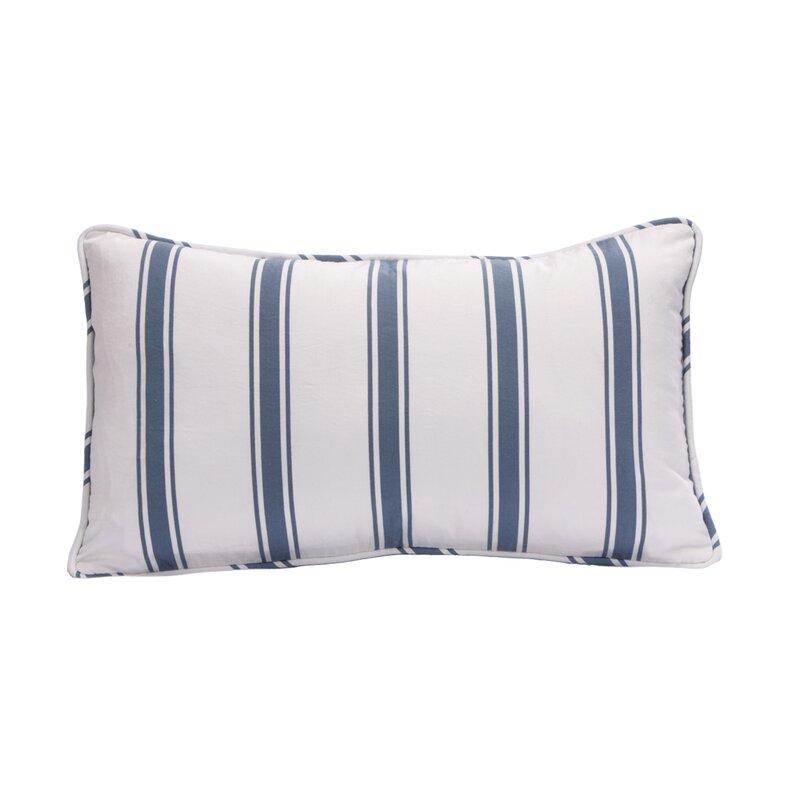 Beach House Cotton Lumbar Pillow