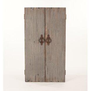 Ilias Wooden Wall Storage Cabinet Jewelry Armoire