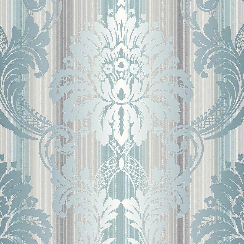 House Of Hampton Moya 32 7 L X 20 5 W Wallpaper Roll Reviews Wayfair