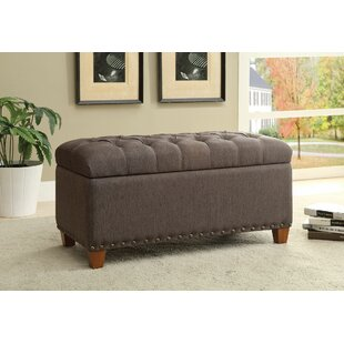Charlton Home Lowman Accent Upholstered Storage Bench