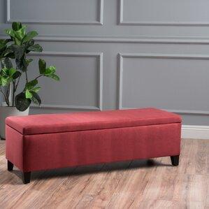 Amazing Schmit Upholstered Storage Bench