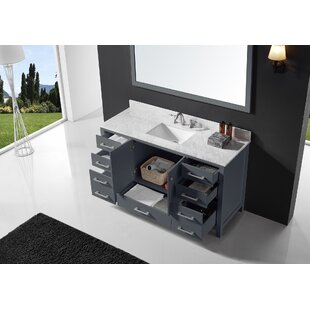 Palacios 60 Single Bathroom Vanity Set with Mirror By Alcott Hill