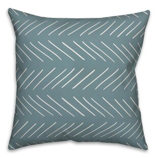 Elzira Modern Chevron Throw Pillow