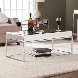 Kyla Mirrored Coffee Table by Wildon Home ?
