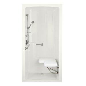 One Piece Shower Stall | Wayfair