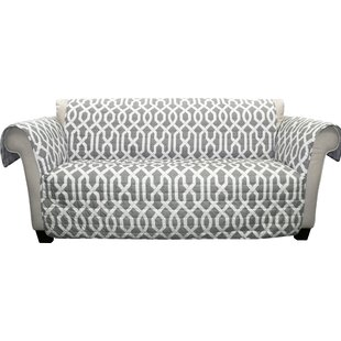 Caledonia Box Cushion Sofa Slipcover
