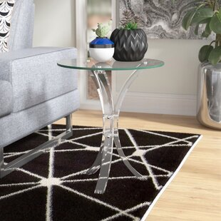 Modern Savoy End Table Orren Ellis