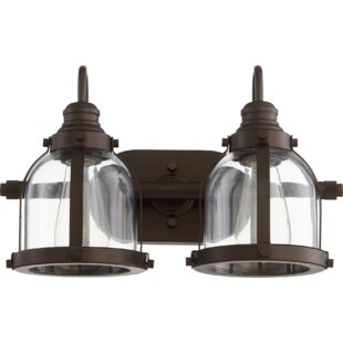Buying Dishman Banded Dome 2-Light Vanity Light By Breakwater Bay