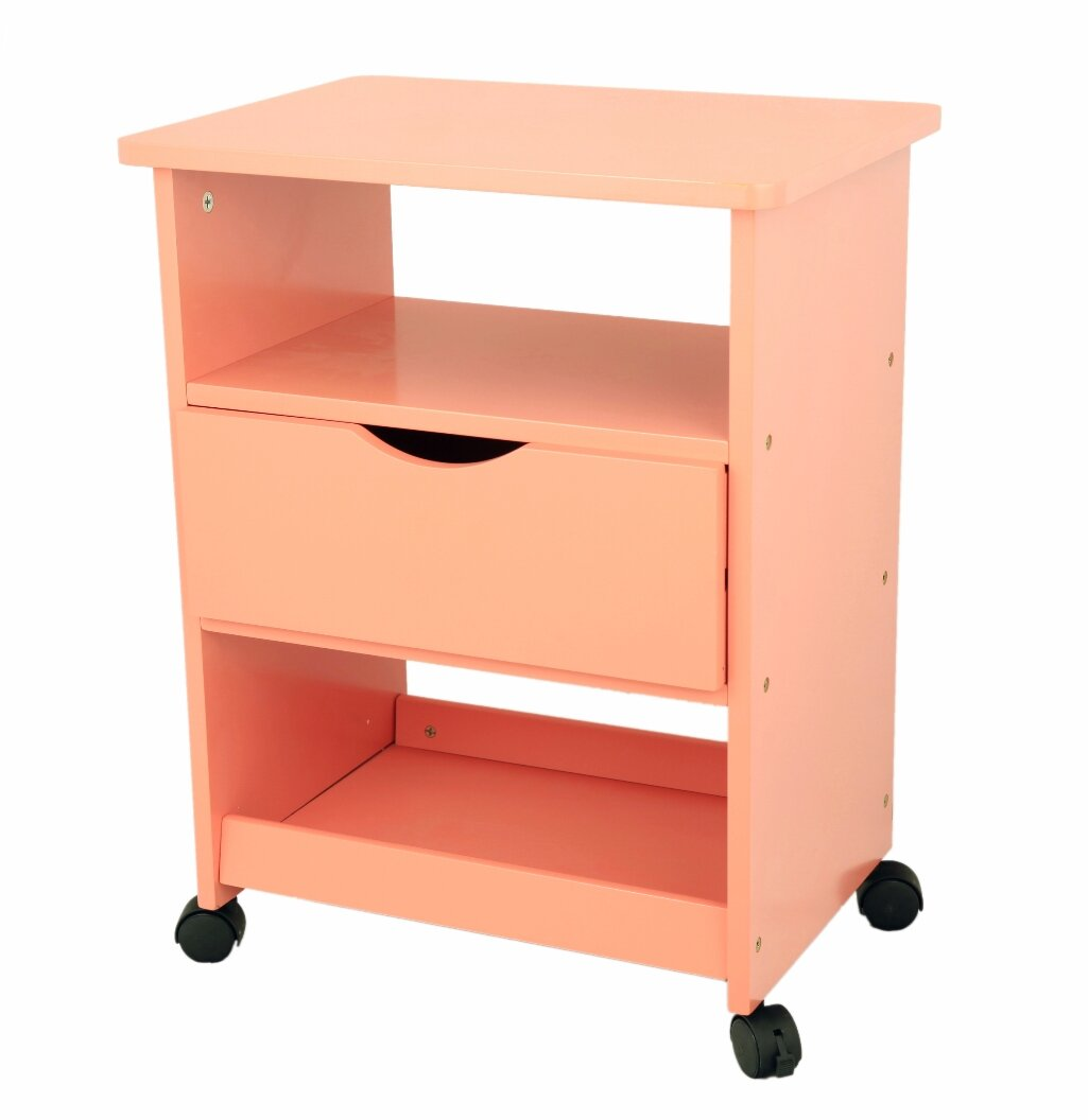 Mega Home All Purpose Rolling End Table U0026 Reviews | Wayfair