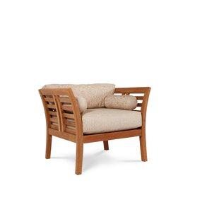 Fleischer Teak Patio Chair (Set of 2)