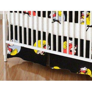 Compare & Buy Mickey Mouse Circles Crib Skirt BySheetworld