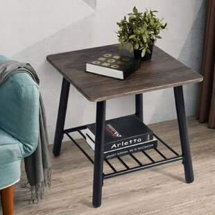 Madelynn End Table by 17 Stories