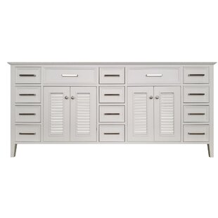 Ferree 73 Double Bathroom Vanity Base by Highland Dunes