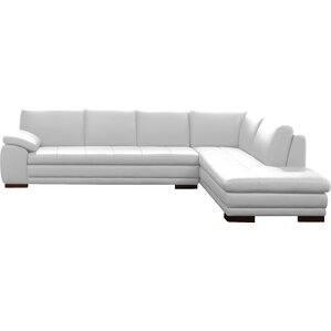Jerald Leather Sectional  sc 1 st  Wayfair : sectional white leather sofa - Sectionals, Sofas & Couches