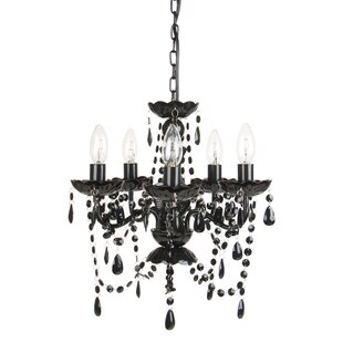 Harriet Bee Senoia 5-Light Candle Style Chandelier