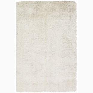 Best Price Samora White Area Rug By Brayden Studio