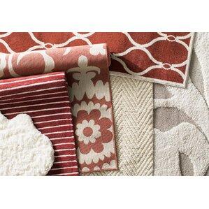 Delightful Hattie Brick U0026 Parchment Indoor/Outdoor Rug