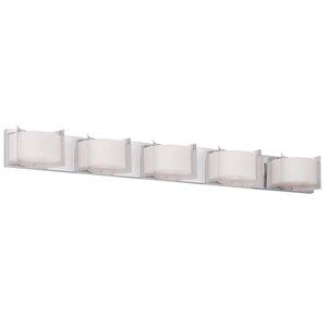 Gregg 5-Light Bath Bar