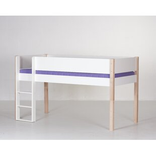 Antoine European Single Mid Sleeper Bed By Harriet Bee
