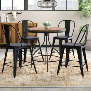 Fauntleroy 5 Piece Pub Table Set