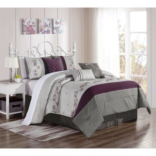 Gilder Embroidery 7 Piece Comforter Set