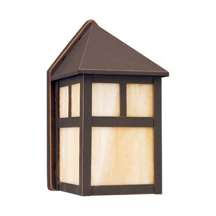 Darby Home Co Bushman 1-Light Outdoor Flush Mount