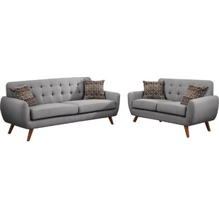 Buy clear Bice 2 Piece Living Room Set by Mercury Row Reviews (2019) & Buyer's Guide