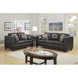 Alcott Hill Donovan 2 Piece Living Room Set