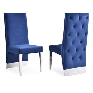 Brillion Upholstered Dining Chair (Set of 2) Orren Ellis