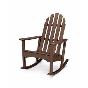 Plastic Scoop Rocking Chairs | Wayfair