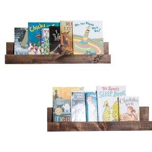 Ruvalcaba Nursery Floating Shelf (Set of 2)