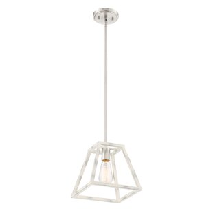 Mickle 1-Light Lantern Pendant by Charlto..