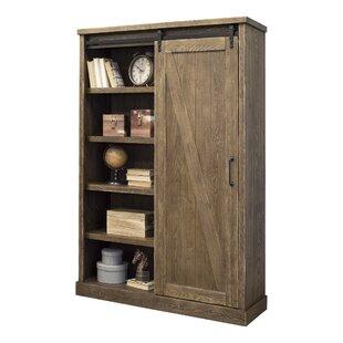 bookcases with doors you ll love wayfair rh wayfair com