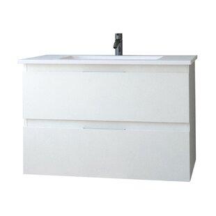 Carnarvon 800mm Wall Hung Single Vanity Unit By Belfry Bathroom