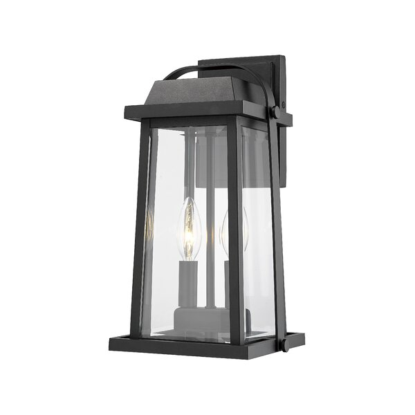 Sisto 2-Light Outdoor Wall Lantern by Breakwater Bay