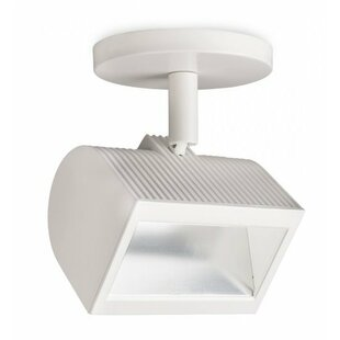 Wall Wash 1-Light LED Semi Flush Mount by WAC Lighting