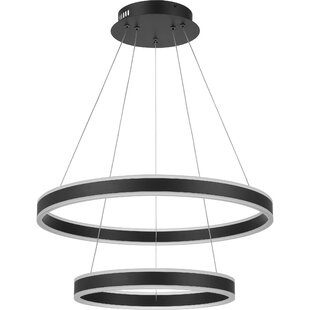 Orren Ellis Zacharias 1-Light LED Novelty Pendant