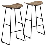 Guth Solid Wood 29 Bar Stool (Set of 2) by 17 Stories