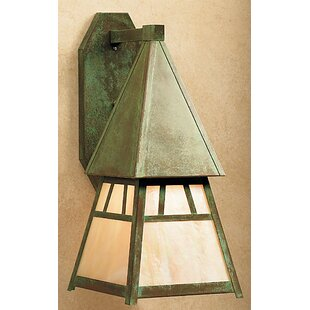 Look for Dartmouth 1-Light Outdoor Wall Lantern By Arroyo Craftsman