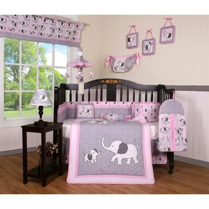 elephant dynasty boutique 13 piece crib bedding set