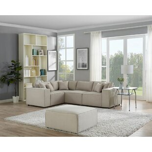 Burgett Modular Sectional with Ottoman