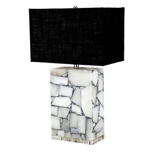 Magpie Alabaster 25 Table Lamp