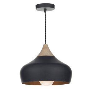 Gaucho 1 Light Bowl Pendant