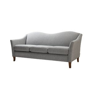Price Check Ezekiel Camel back Standard Arm Sofa by Alcott Hill Reviews (2019) & Buyer's Guide