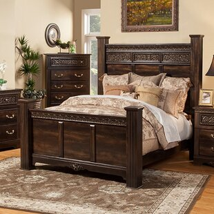 boyers solid wood panel configurable bedroom set - Wood Bedroom Sets